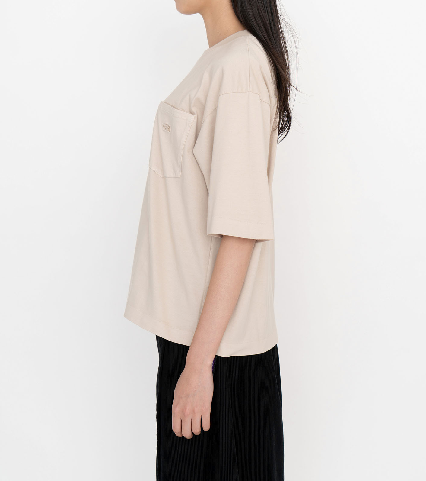 Natural Dyed H/S Pocket Tee