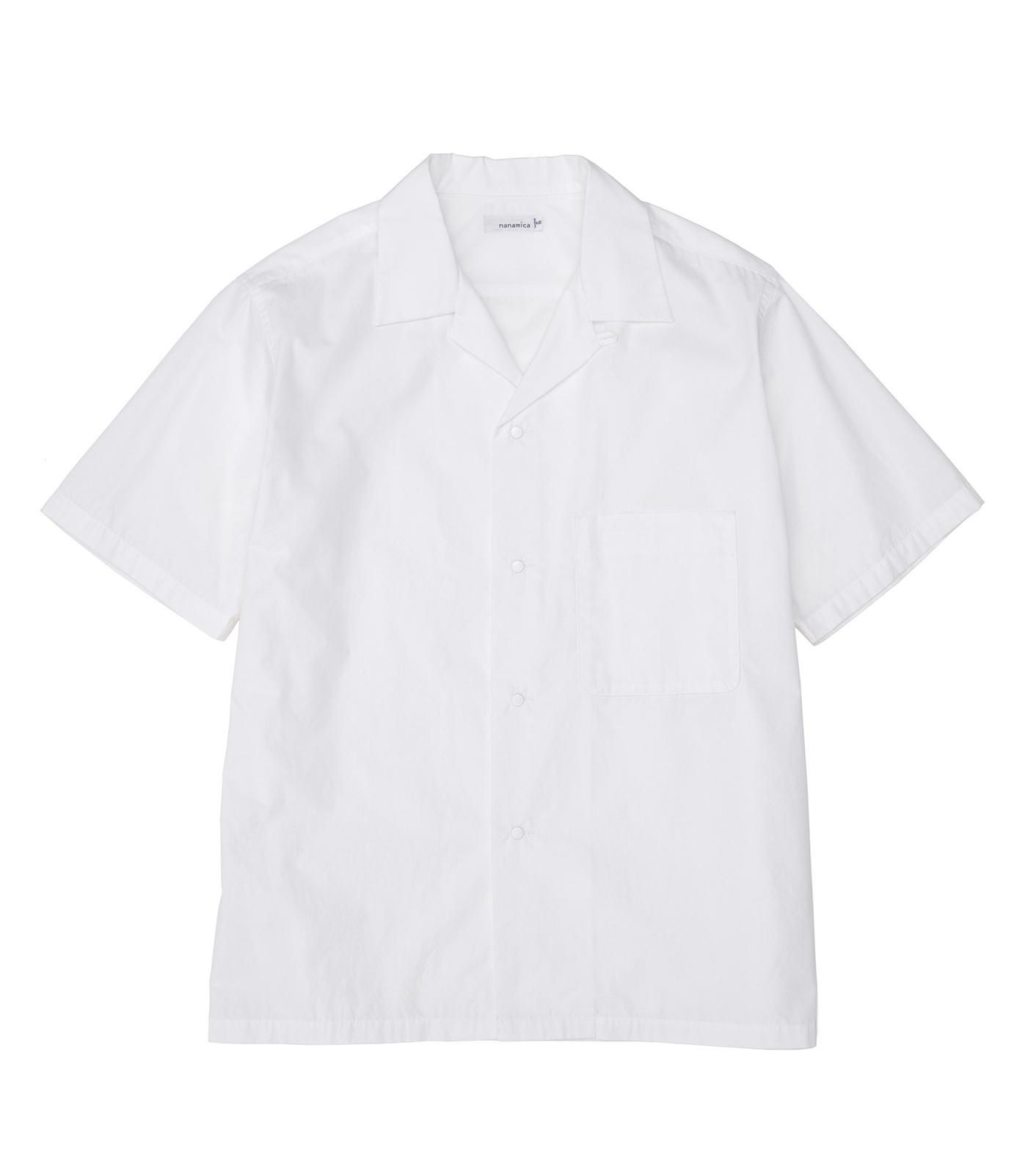 nanamica / Open Collar Wind H/S Shirt
