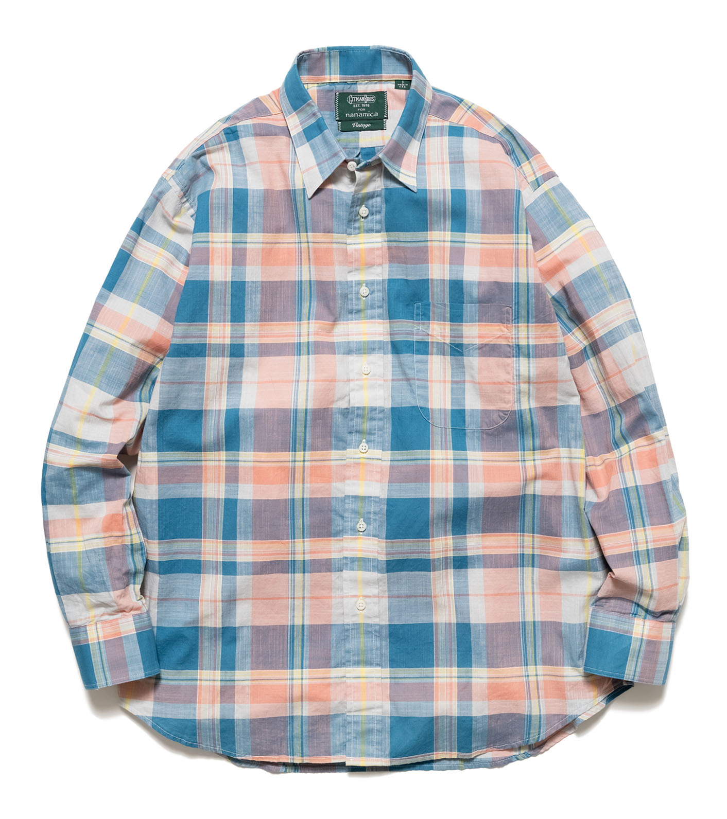 L/S Shirt Archive Cotton Madras