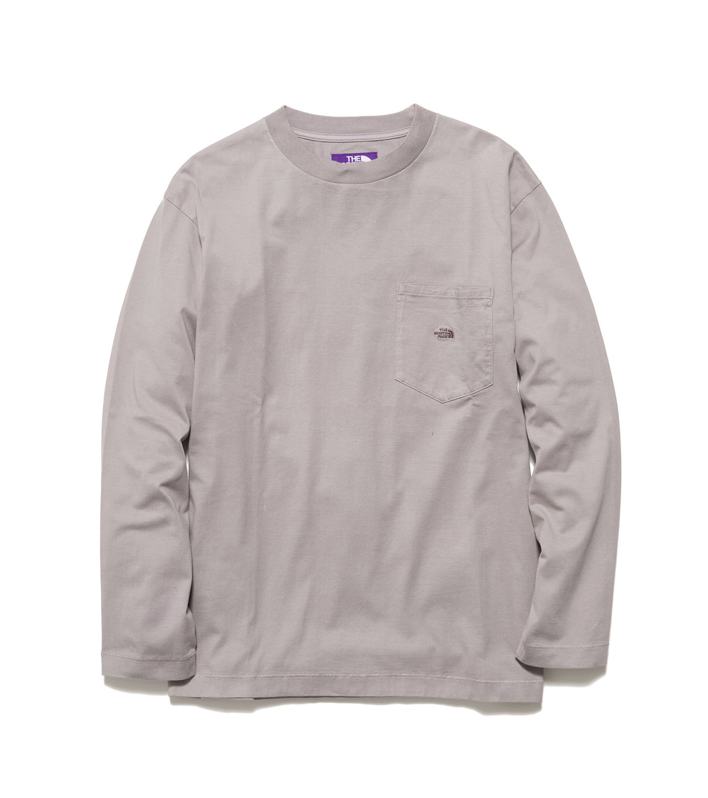 Natural Dyed L/S Pocket Tee