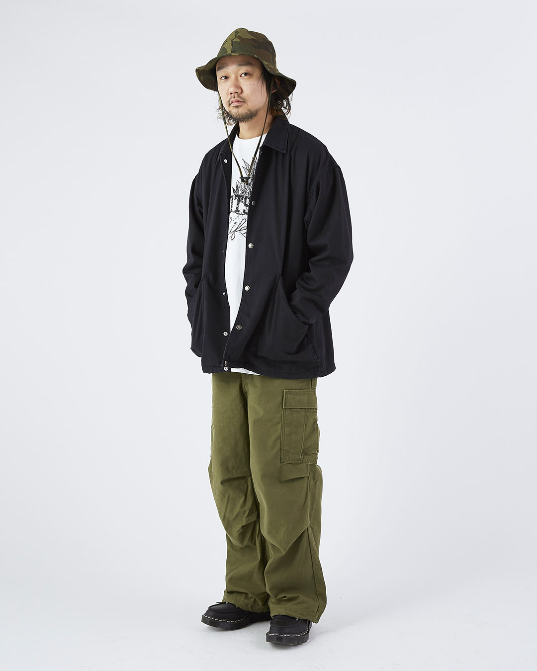 THE NORTH FACE PURPLE LABELのC.P.Oジャケット