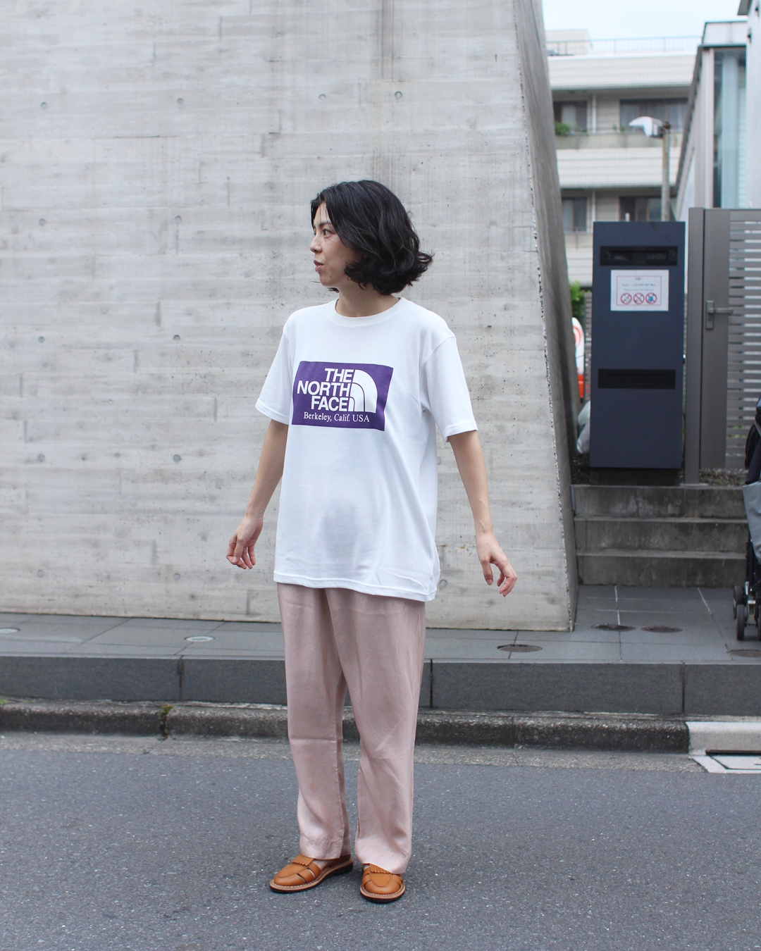 THE NORTH FACE PURPLE LABEL Logo Tee