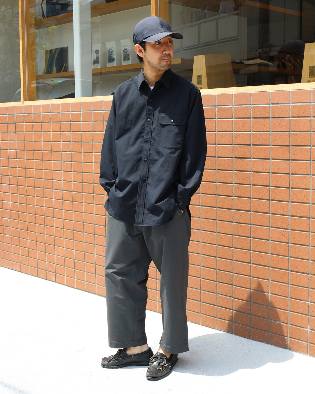 nanamican ALPHADRY®Shirt and BREATH TUNE Easy Pants